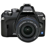 Sell olympus evolt e-410 digital slr camera with 14-42mm and 40-150mm zuiko digital lens at uSell.com