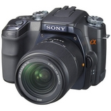 Sell sony alpha dslr-a100 digital slr camera with 18-200mm f3.5-6.3 lens at uSell.com